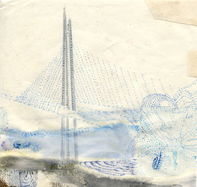 "Urban art teacher, Jennifer Starkweather's, exhibit ""Valediction"" bids farewell to Bay Bridge east span"