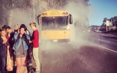 Engine fire causes Marin bus breakdown, strands Urban School students