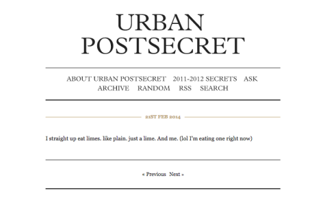 "Controversial posts on Urban's ""Post Secret"" lead to more careful moderation"