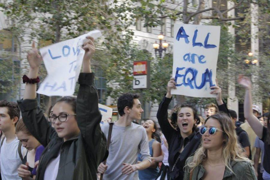 Urban School of San Francisco students look inward and outward in an attempt to process Trump's victory
