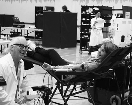 Urban School partners with Blood Centers of the Pacific for a blood drive