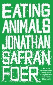 "Pick up the book ""Eating Animals"" by Jonathan Safran Foer. One copy is now available in The Urban School library."