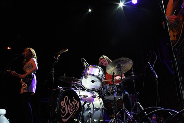 Urban's Sami Perez ('13) and Sinclair Riley ('13) play on May 4th at The Fillmore.