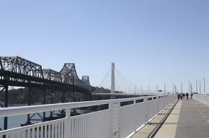 New Bay Bridge east span bike path