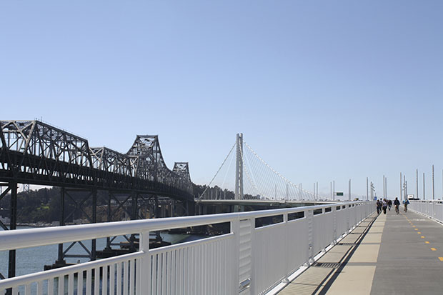 New Bay Bridge east span bike path