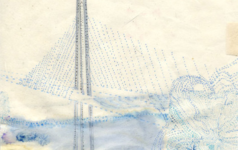 "Urban art teacher Jennifer Starkweather's exhibit ""Valediction"" bids farewell to Bay Bridge east span"