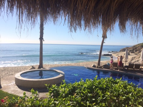 Claire Oster (17') takes in the view of  Cabo, Mexico