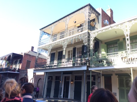 Phoebe Yusim (16') tours the streets of New Orleans.