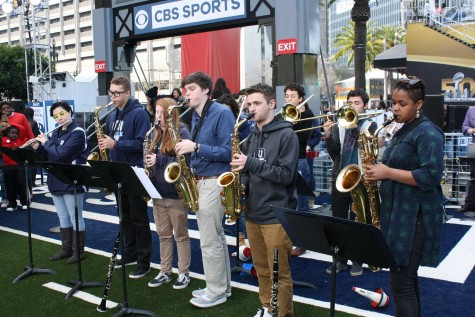Urban Jazz Bands rock Super Bowl City
