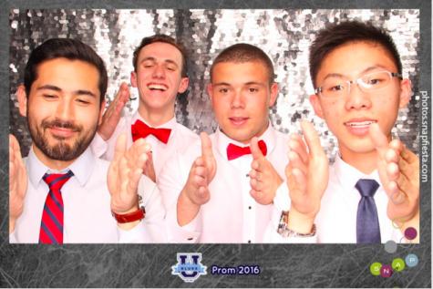 from left to right: Skylar Silverman, Jack Gallo ('16), Leo Weisman ('16), Ben Lee ('17)
