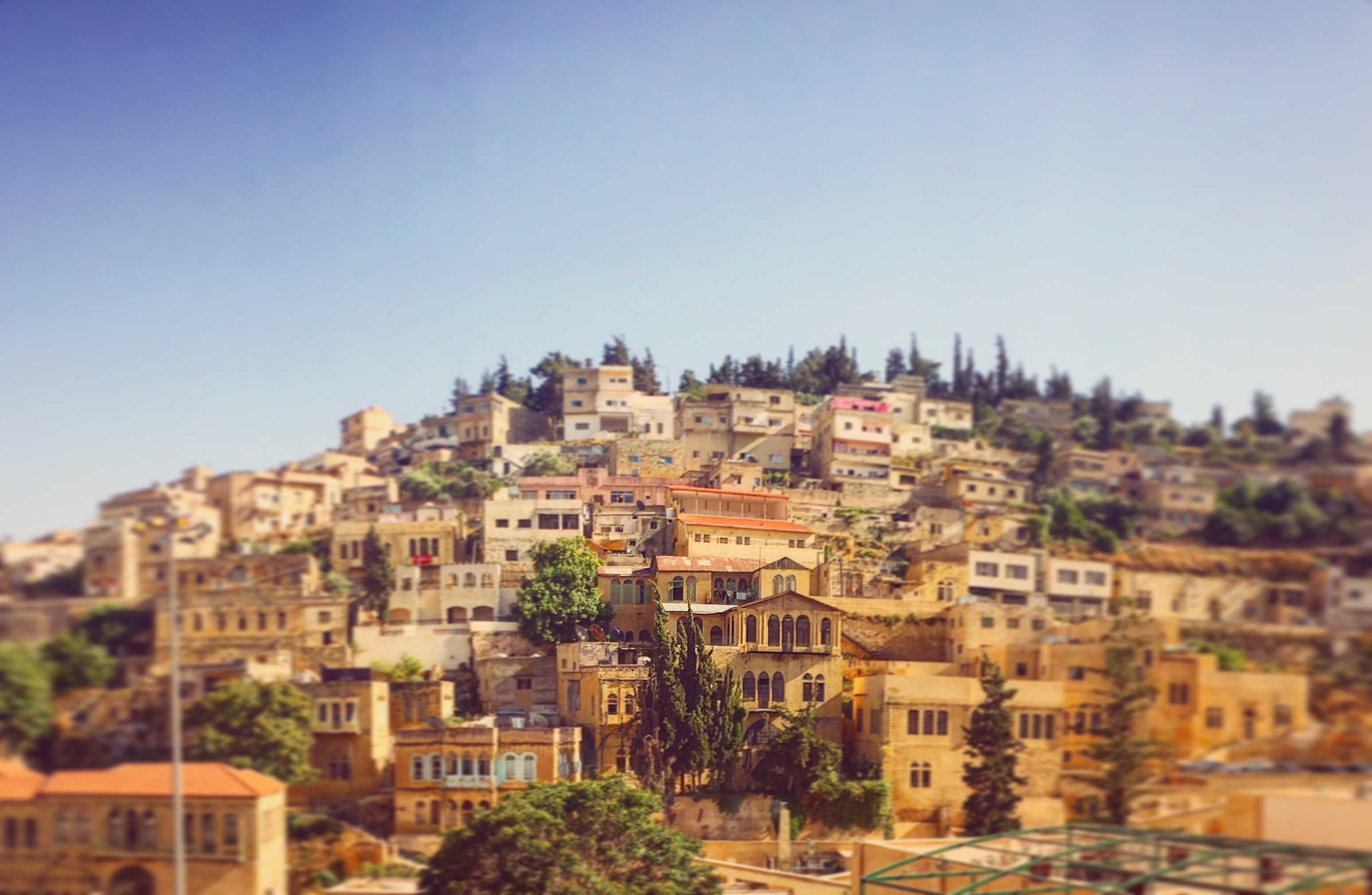 The city of As-Salt السالط