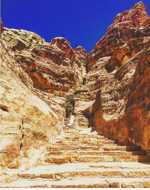 Hiking Path in Petra