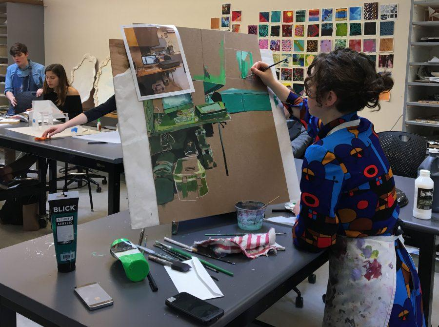 Urban students showcase their work in the Winter Art Show
