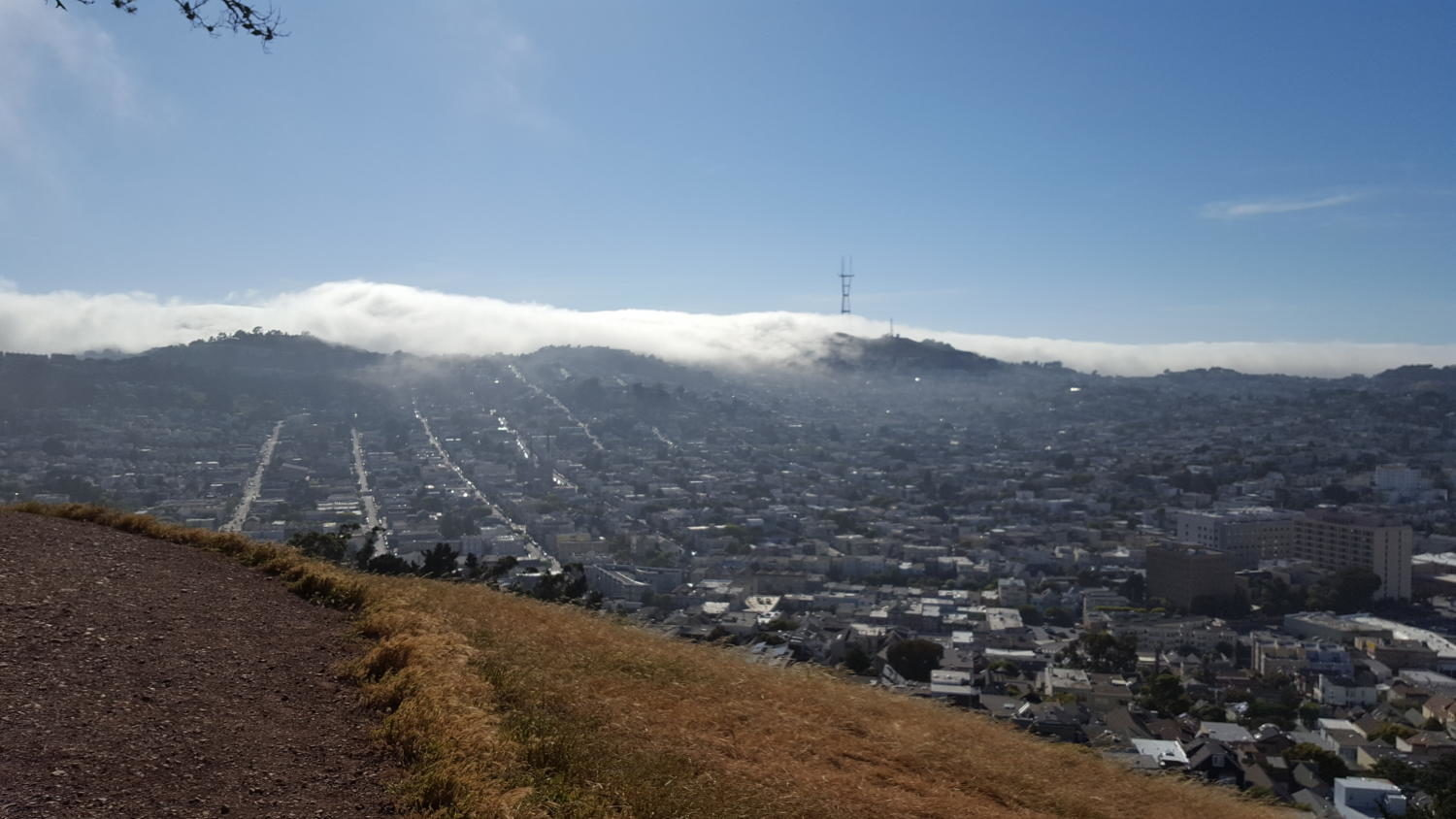 View from Bernal Heights. Taken May 22, 2017.