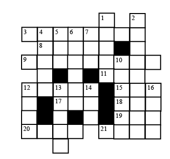 Crossword #2: Whose House?