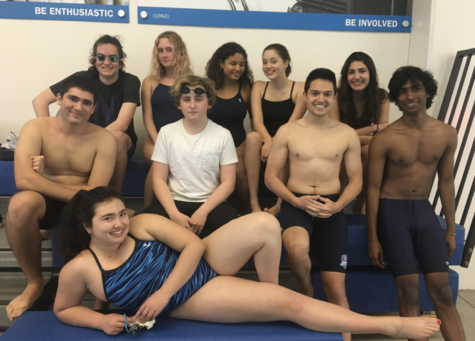 Urban Swimming team's positive attitude