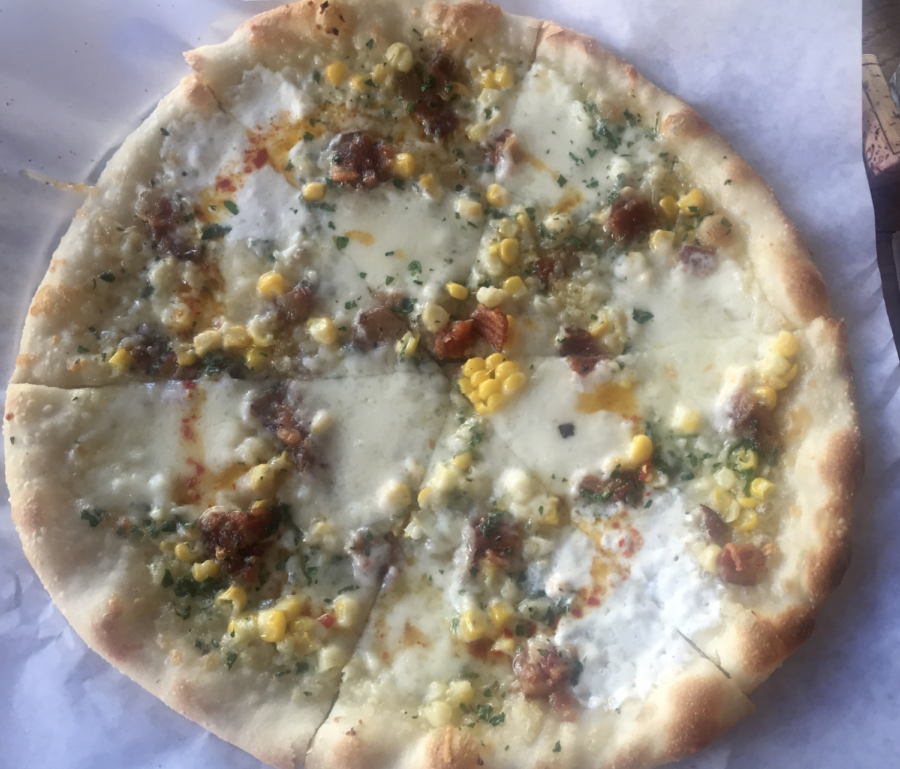 A bi-weekly special pizza at Pizzetta 211 in the Richmond district, by Kian Nassre, Web Editor.