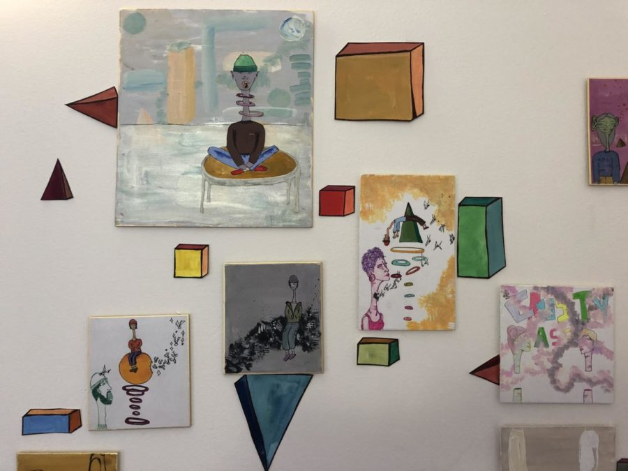 Aisha Catena Foster 19' Winter Art Show. By Kian Nassre, Web Editor.