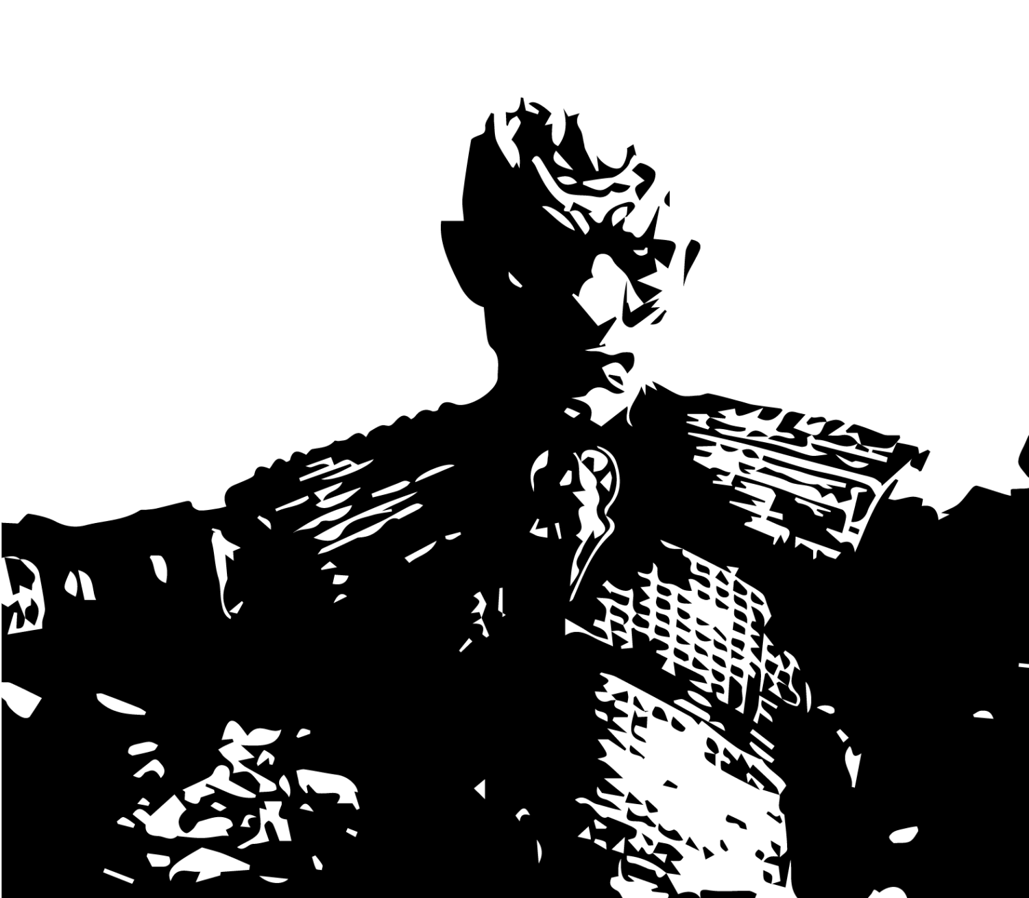 Illustration of the Night King in
