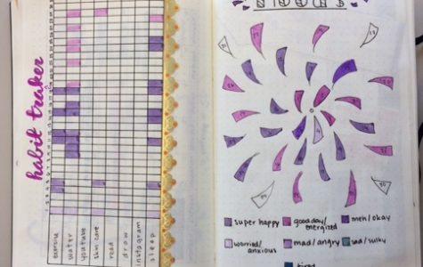Photo of colorful notes of Kikani Libada '21. Photo by Kikani Libada.