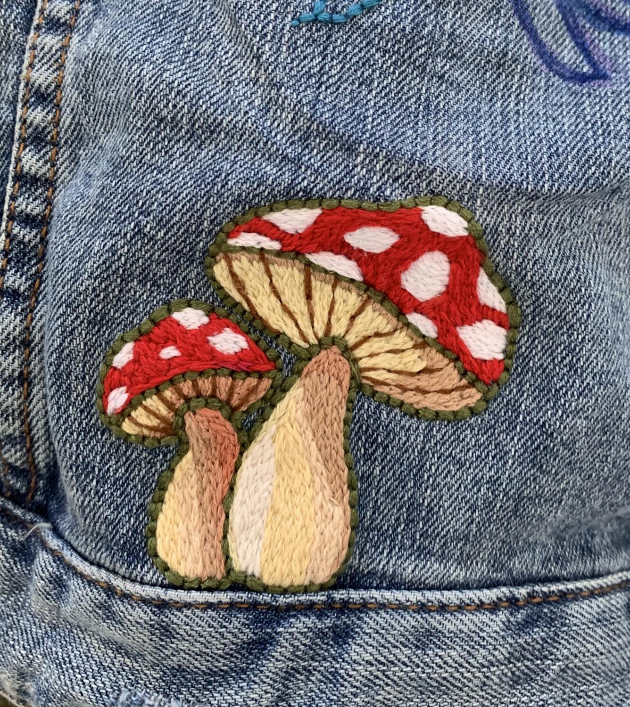 Embroidery by Adi Jolish '21